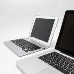 Чехол в форме ноутбука для iPad с клавиатурой