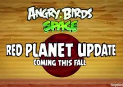 Новая версия Angry Birds Space: Red Planet выйдет этой осенью