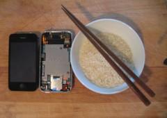 Намочили iPhone? Поможет рис!