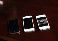 Скорость загрузки iPhone 5 в сравнении с iPhone 4 и 4S, видео