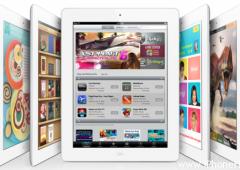Новое поколение iPad с дисплеем Retina