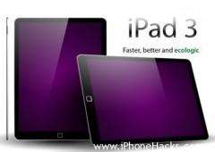 К Новому году компания Apple планирует накопить 2 миллиона планшетов iPad 3 (кодовые названия «J1» и «J2»).