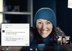 Обновлённая версия Skype. Специально для дисплея Retina.